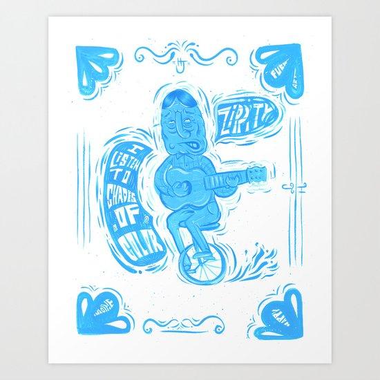 Joy Rider Art Print