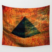 egyptian Wall Tapestries featuring Egyptian wind by  Agostino Lo Coco