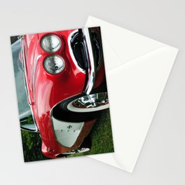 Red Corvette Stationery Cards
