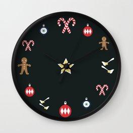 Seasonally Silly Wall Clock