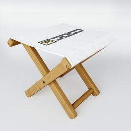 JOOJ Logotype Folding Stool