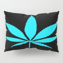 Weed : High Time Blue Pillow Sham