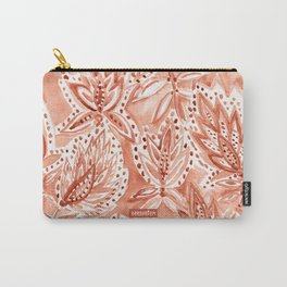 HENNA HABIT Watercolor Carry-All Pouch