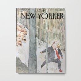 The New Yorker Metal Print