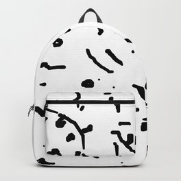 Twiggy Tree Ink Line Drawing Backpack