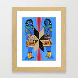 SPACE GODS Framed Art Print