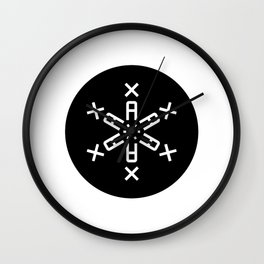 Typeflake 02 Wall Clock