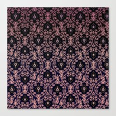 PAISLEY PATTERN IN PINK Canvas Print