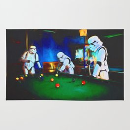 Stormtroopers On Break Rug