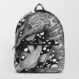 Seahorse in the Kelp Forest Backpack
