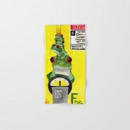 F for Frog - Alphabet City  Hand & Bath Towel