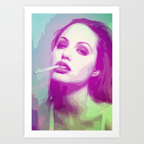 Some kind of Jolie Art Print