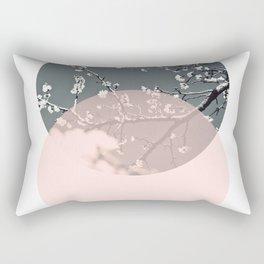 Peach Blossom Rectangular Pillow