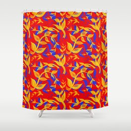 Primary Vines Shower Curtain