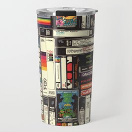 Cassettes, VHS & Games Travel Mug