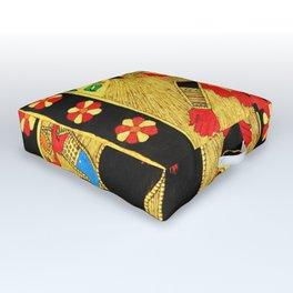 Hindu Kali 20 Outdoor Floor Cushion