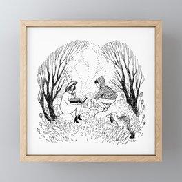 Magic Book Framed Mini Art Print