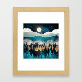 Evening Mist Framed Art Print