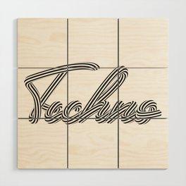 Techno Wood Wall Art