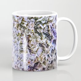 Top Shelf Grand Daddy Purple Close Up Buds Trichomes View Coffee Mug