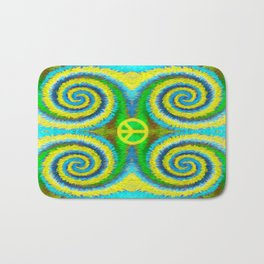 Peace Koru Bath Mat