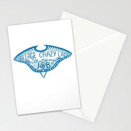 Village Crazy Lady Stationery Cards