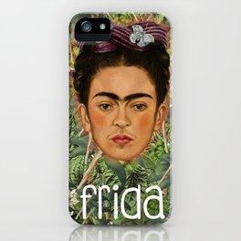 Frida Plantas 001 iPhone Case