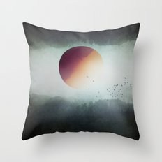 impossible wilderness Throw Pillow