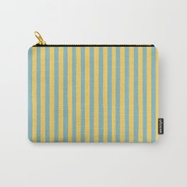 Summer Stripe Carry-All Pouch
