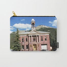 Gold Rush Era Town - Silverton City Hall, built in 1908 Carry-All Pouch