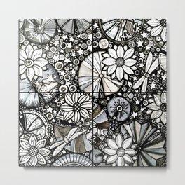 Pond of Stars Metal Print