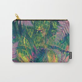 Abstract Floral Fern Tree Fairyland Carry-All Pouch