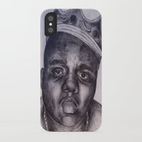 biggie iPhone & iPod Cases featuring BIGGIE by Tara Dacle