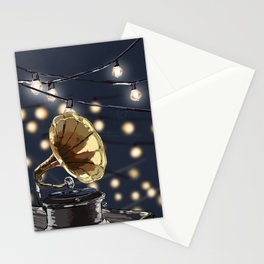 Music Outside Stationery Cards