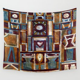 Joaquin Torres Garcia The Man Wall Tapestry