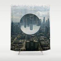 seattle Shower Curtains featuring Seattle by Ezekiel