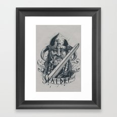 Raider (Viking) Framed Art Print