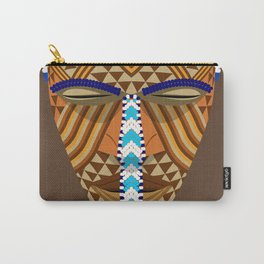 African mask Carry-All Pouch