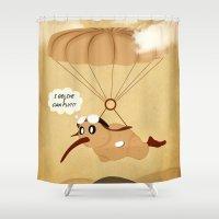 kiwi Shower Curtains featuring kiwi by mark ashkenazi