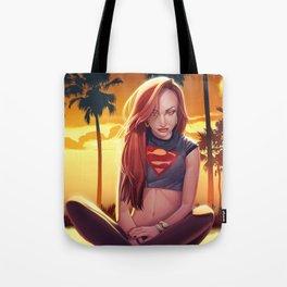 I'm a Supergirl! Tote Bag