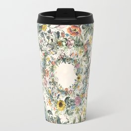 Circle of Life Cream Travel Mug