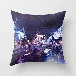 Galactic Star Gaze Throw Pillow