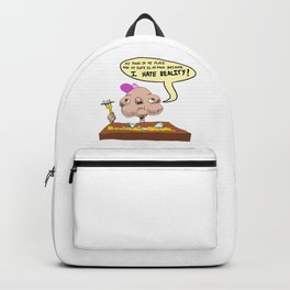 My Food Is My Plate Backpack