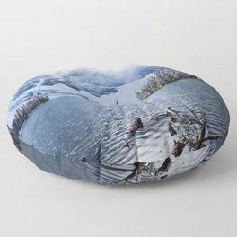 Wild Winter Floor Pillow