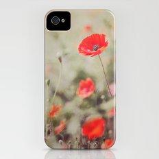 Poppies iPhone (4, 4s) Slim Case