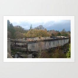St. Peter's Seminary - Lecture Hall Art Print