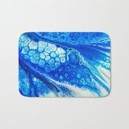 Blue cells Bath Mat