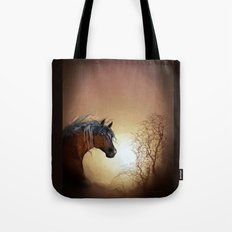 HORSE - Misty Tote Bag