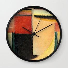 Alexej von Jawlensky - Abstrakter Kopf - Abstract Head Wall Clock