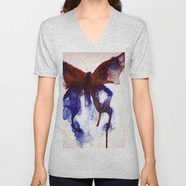 Butterfly Unisex V-Neck
